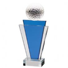 Gauntlet Golf Crystal Award